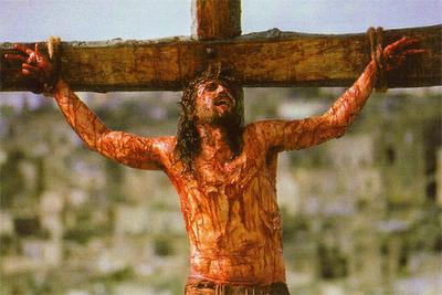 Jesús en la cruz1