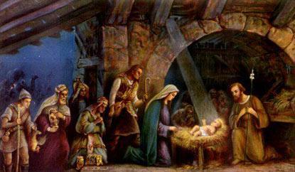 Nacimiento y adoración