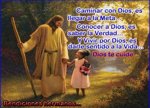Caminar con Dios